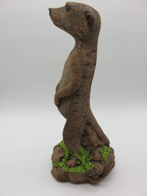 Meerkat (large) from Cement<br><span style='font-size:75%'>6.30 x 7.0 x 17.0'', 12.30 lbs</span>