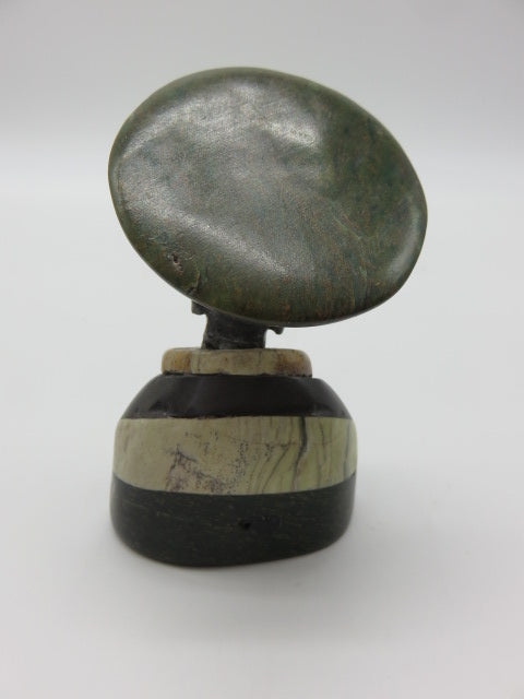 Bust (small)<br><span style='font-size:75%'>Various Hand Carved Stones<br>3.94 x 2.36 x 1.97'', 0.64 lbs</span>