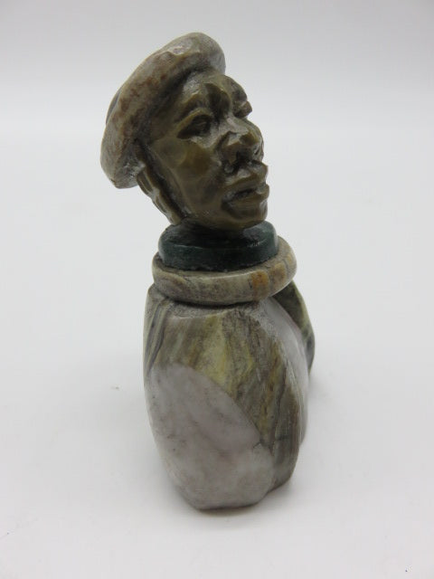 Bust (small)<br><span style='font-size:75%'>Various Hand Carved Stones<br>2.76 x 1.97 x 1.57'', 0.31 lbs</span>