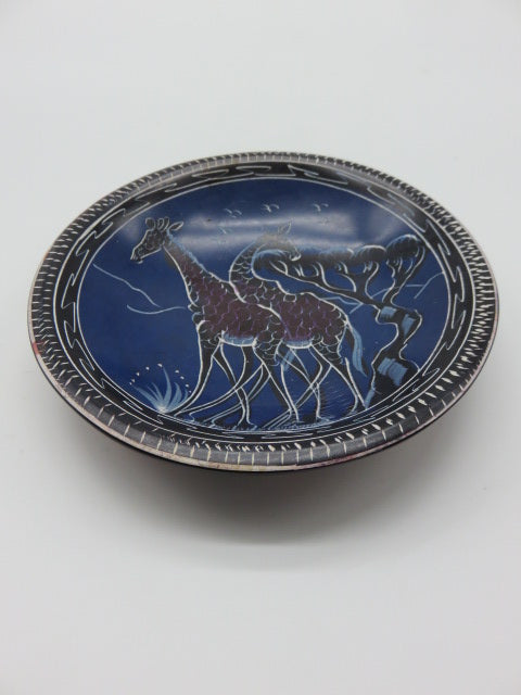 Painted Bowl (medium)<br><span style='font-size:75%'>Hand Carved Soapstone<br>1.18 x 5.90'', 0.66 lbs</span>