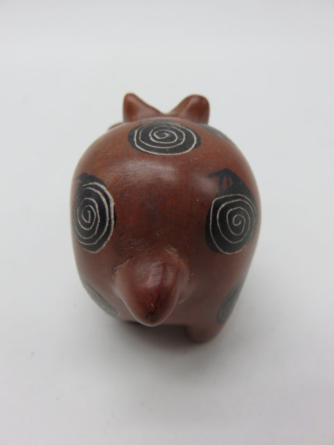 <span style='font-size:1em'>Hand Painted Animal</span><br><span style='font-size:0.7em'>Hand Carved Soapstone</span>