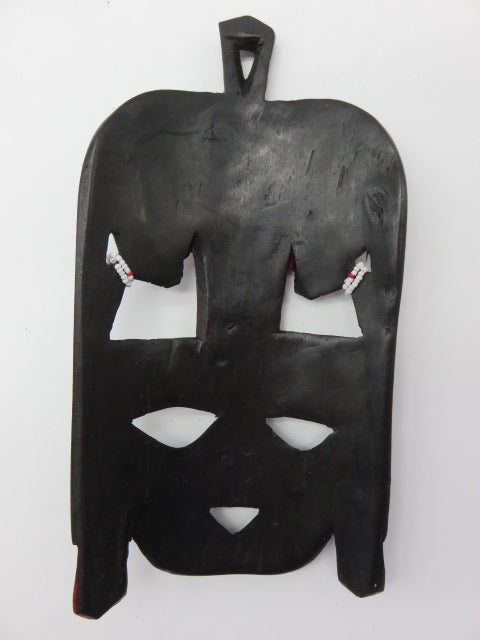 African Mask (medium)<br><span style='font-size:75%'>from Hand Carved Wood<br>9.84 x 5.12'', 0.37 lbs</span>