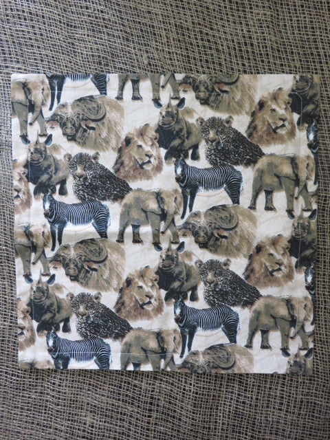 <span style='font-size:1em'>Cushion Cover</span><br><span style='font-size:0.7em'>African Animal Print</span>