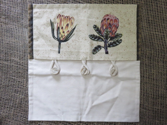 Protea Print<br><span style='font-size:75%'>Cushion Cover</span>