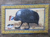 <span style='font-size:1em'>Padded Placemats</span><br><span style='font-size:0.7em'>Guineafowl Prints</span>