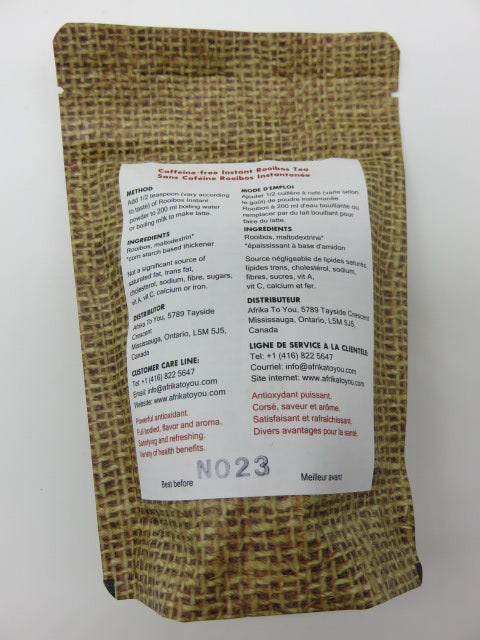 Instant Rooibos 80g<br><span style='font-size:75%'>Imported from South Africa</span>