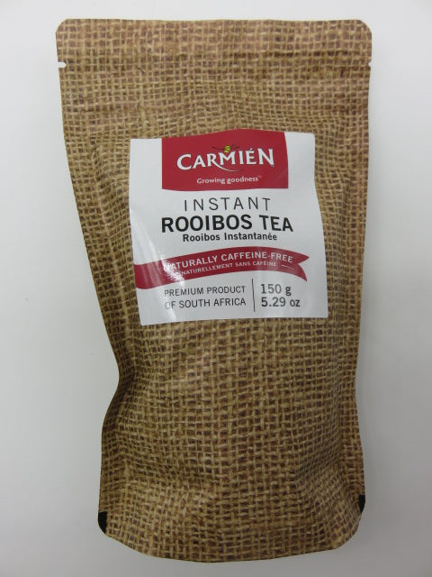 <span style='font-size:1em'>Instant Rooibos</span><br><span style='font-size:0.7em'>150g<span>