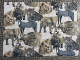 African Animal Print<br><span style='font-size:75%'>Padded Placemats<br>15.7 x 11.8'', 0.13 lbs each</span>