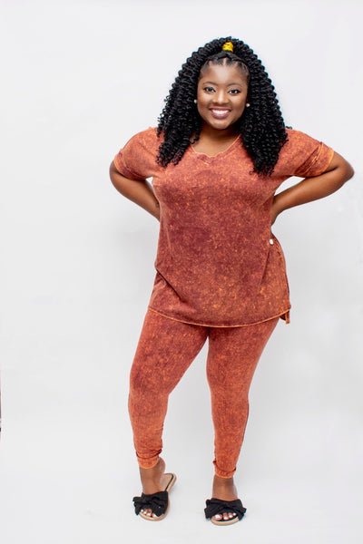 Persimmon Legging Set