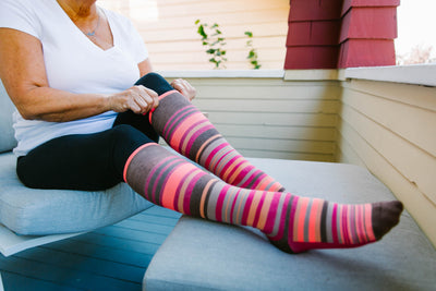 Compression Socks: What Are They And Who Do They Benefit?