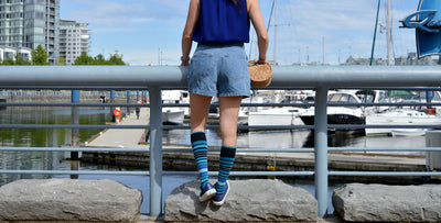 How to Style your Compression Socks This Summer