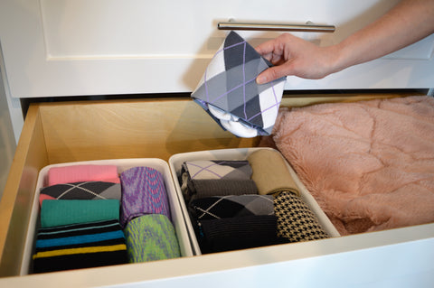 Dr. Segal's Compression Socks Folded in Drawers
