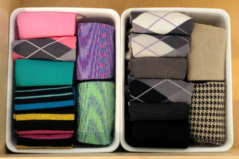 Organized Set of Dr. Segal's Compression Socks