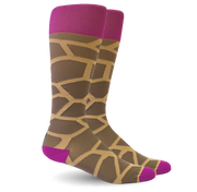 Giraffe Pink/Brown - Women's Medical  20-30 mmHg