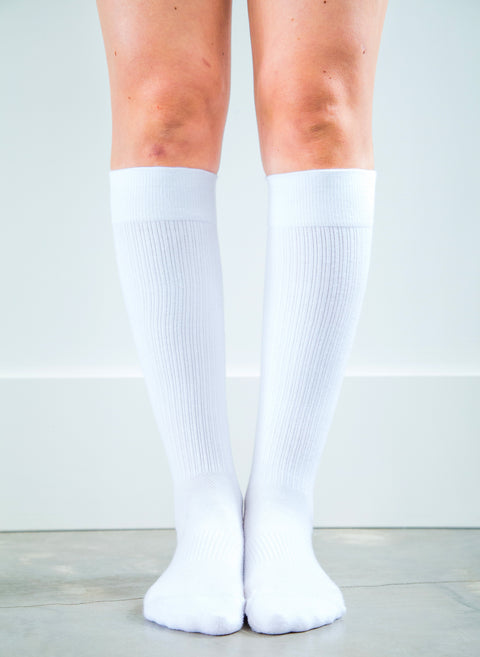 Solid White Sock - Men's Everyday *FINAL SALE*