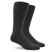 Solid Cotton Grey Energy Socks