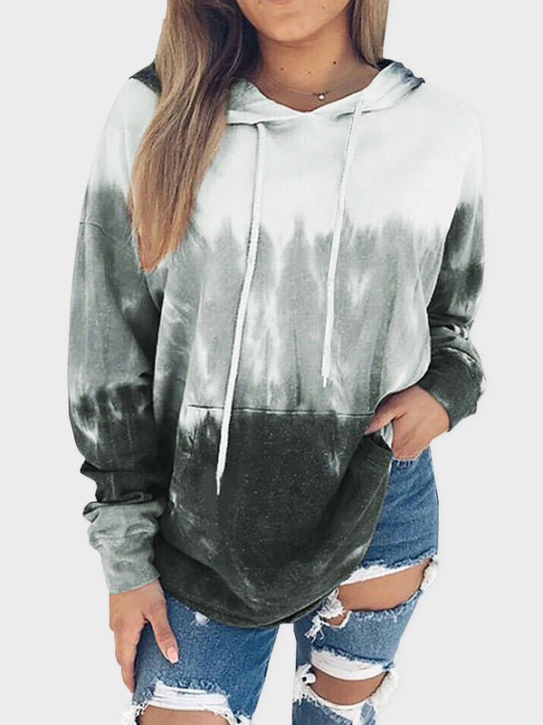 Women Loose Pullover Sport Top