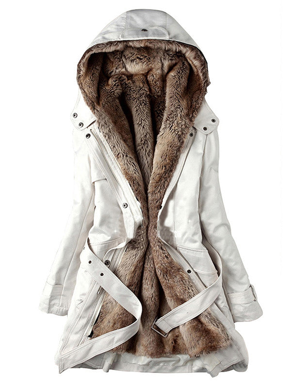 Women's Casual Warm Hooded Coats