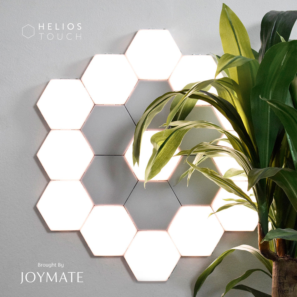 JOYMATE proudly brings you HELIOS TOUCH, the world first modular touch sensitive wall LED light designed by Great British. Shop Value Pack with a special discount from JOYMATE.co and enjoy free shipping.