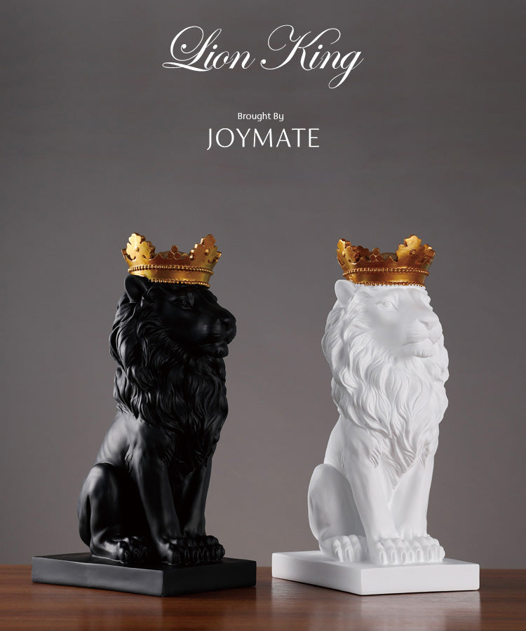 Royal Crown Lion King Statue | JOYMATE
