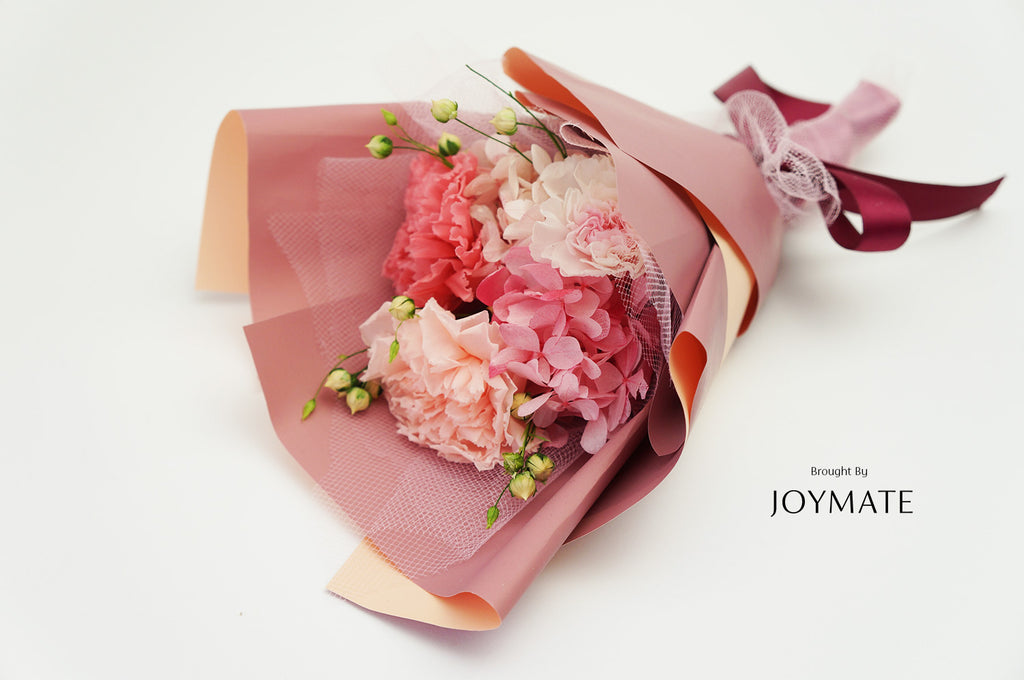 Preserved Flower Bouquet - Pinky | JOYMATE