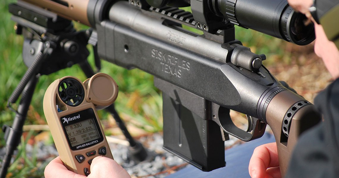 Long-Range Shooting with Kestrel Ballistics Meters