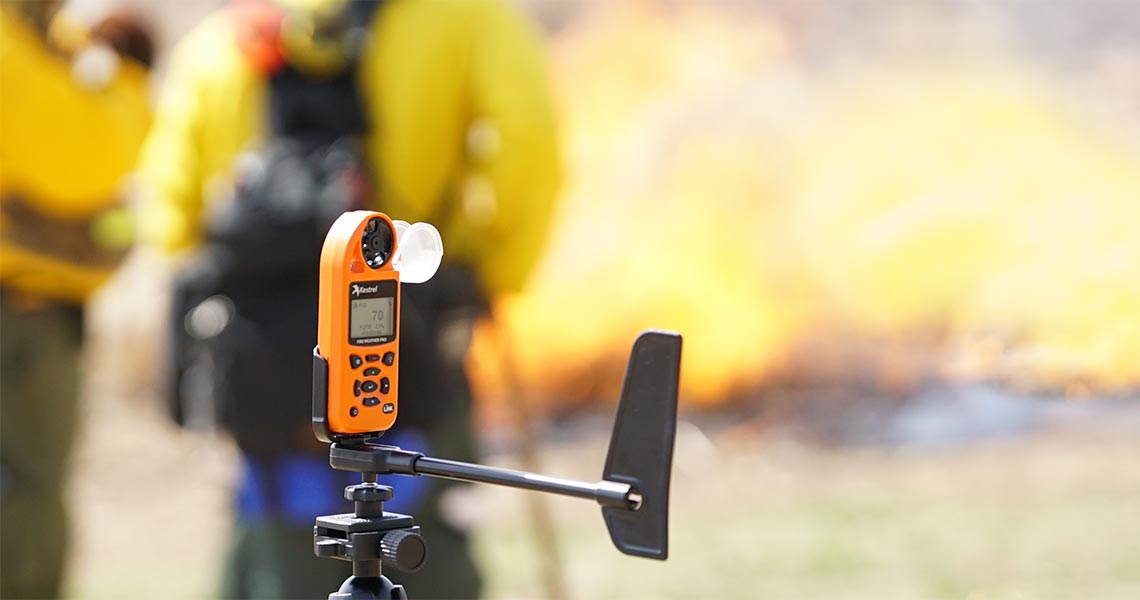 Firefighters and Heat Stress: How Kestrel Instruments Provides Protection