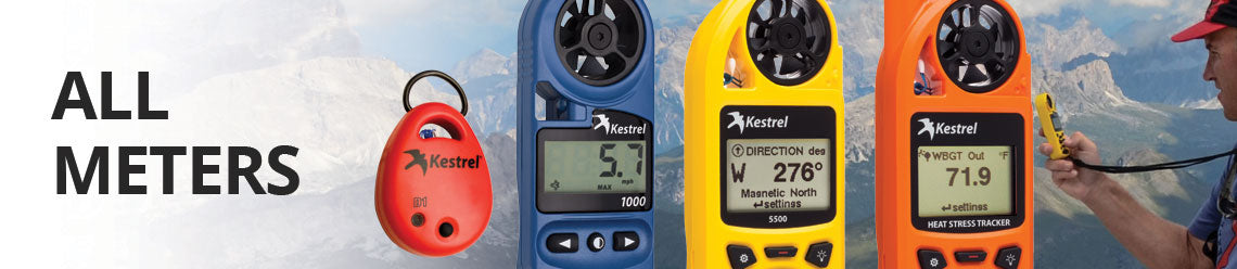 View All Kestrel Meters