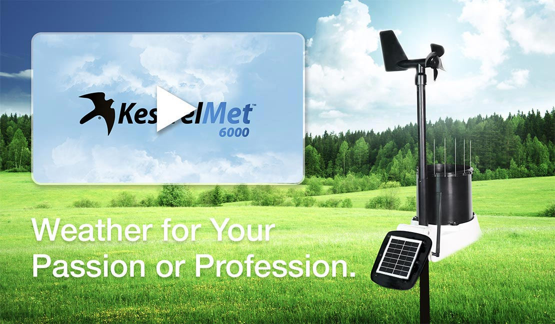 KestrelMet 6000 - Weather for your Passion or Profession