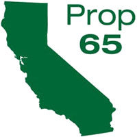 California Proposition 65 Compliant