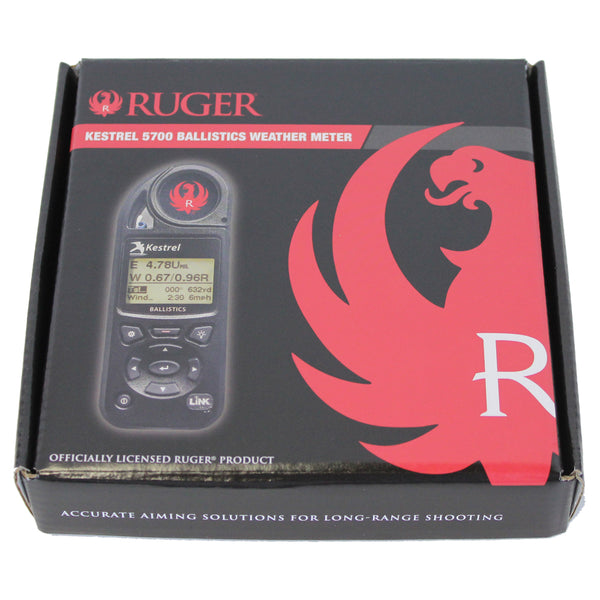 Ruger Kestrel 5700 Ballistics Weather Meter with LiNK