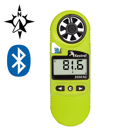 Kestrel 3550AG Weather Meter for Spray Applications