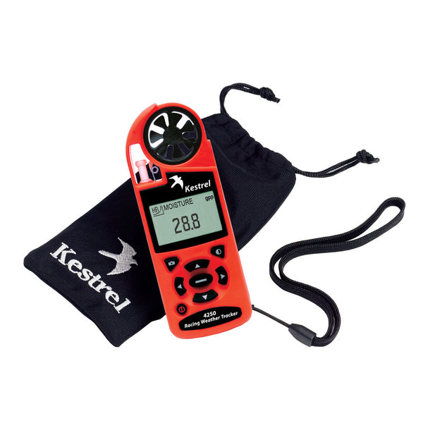 Kestrel 4250 Racing Weather Tracker