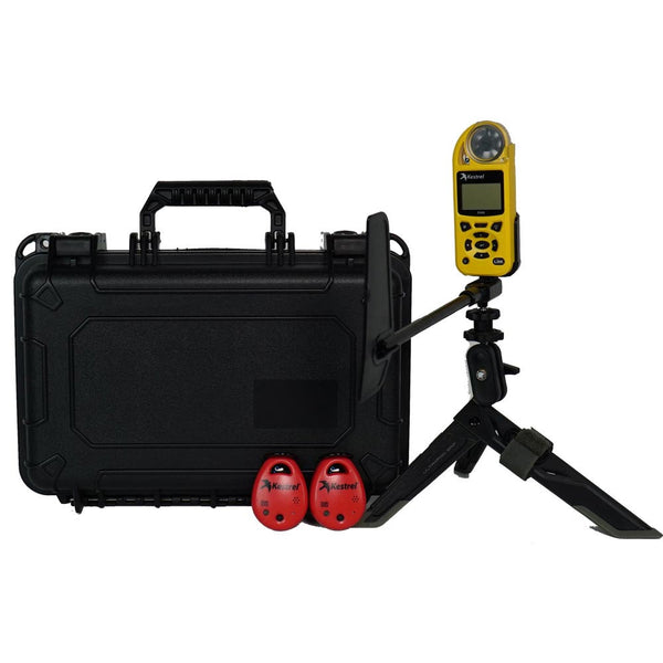 Storm Chaser Kit with Kestrel 5500 Weather Meter, Vane Mount, Mini Tripod, Two D3 DROPs