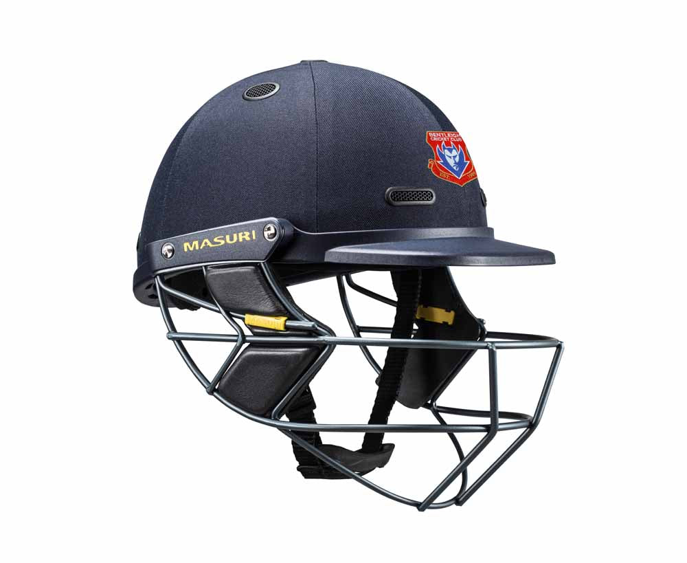 Masuri SENIOR Vision Series Test Helmet with Steel Grille - Bentleigh CC