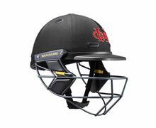 Masuri SENIOR Vision Series Test Helmet with Steel Grille - Moorabbin CC
