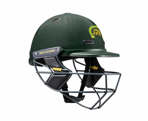 Masuri SENIOR Vision Series Test Helmet with Steel Grille - Box Hill CC