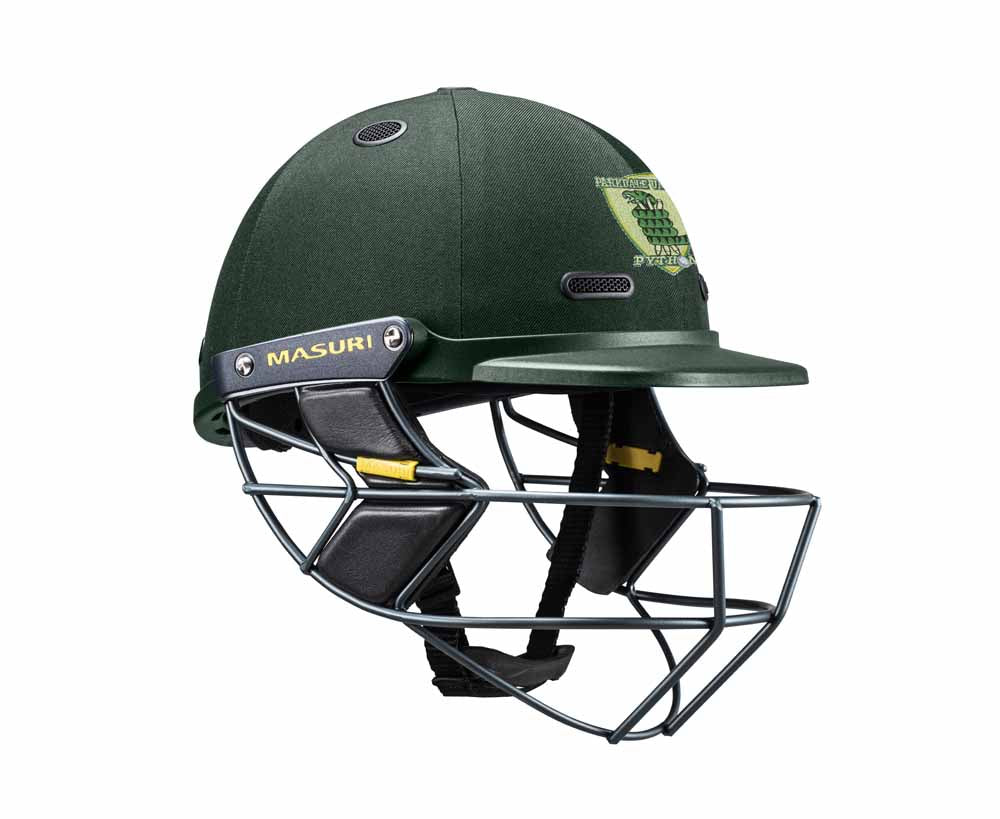 Masuri SENIOR Vision Series Test Helmet with Steel Grille - Parkdale United CC