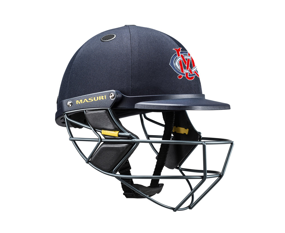 Masuri SENIOR Vision Series Test Helmet with Steel Grille - Melbourne CC