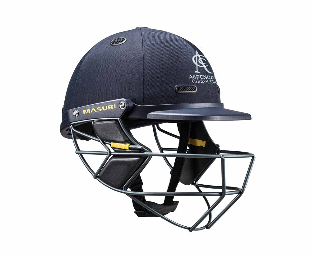 Masuri SENIOR Vision Series Test Helmet with Steel Grille - Aspendale CC
