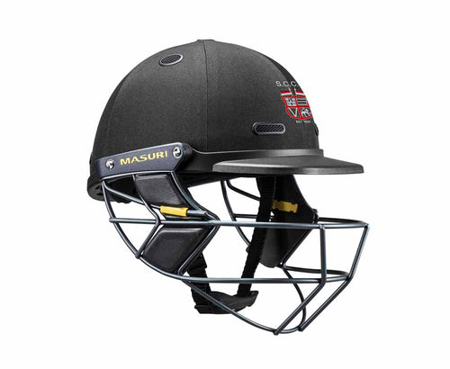 Masuri SENIOR Vision Series Test Helmet with Steel Grille - South Caulfield CC