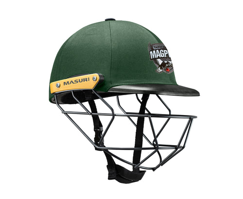 Masuri Original Series MK2 JUNIOR Legacy Plus Helmet with Steel Grille - Camberwell Magpies CC