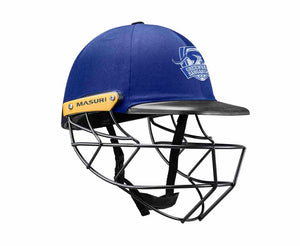 Masuri Original Series MK2 SENIOR Legacy Plus Helmet with Steel Grille - Greenvale Kangaroos CC
