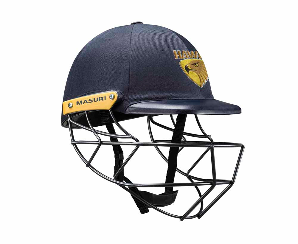 Masuri Original Series MK2 SENIOR Legacy Plus Helmet with Steel Grille - Kingston-Hawthorn CC