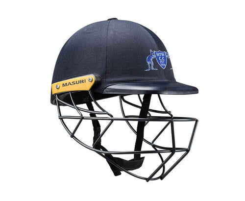 Masuri Original Series MK2 SENIOR Legacy Plus Helmet with Steel Grille - Mt Waverley CC