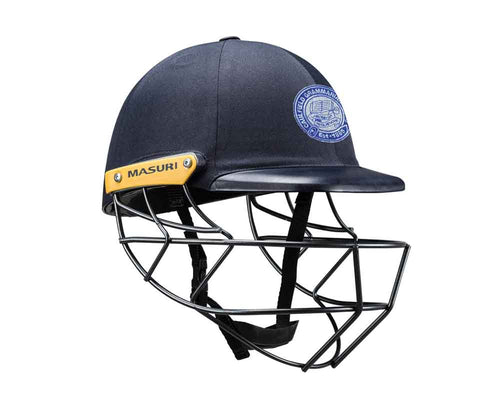Masuri Original Series MK2 SENIOR Legacy Plus Helmet with Steel Grille - Caulfield Grammarians/NCG CC
