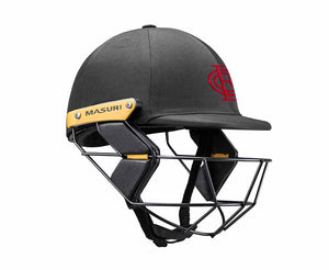 Masuri Original Series MK2 JUNIOR Test Helmet with Steel Grille - Essendon CC
