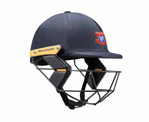 Masuri Original Series MK2 JUNIOR Test Helmet with Steel Grille - Bentleigh CC