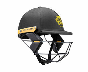 Masuri Original Series MK2 JUNIOR Test Helmet with Steel Grille - Monash Tigers CC