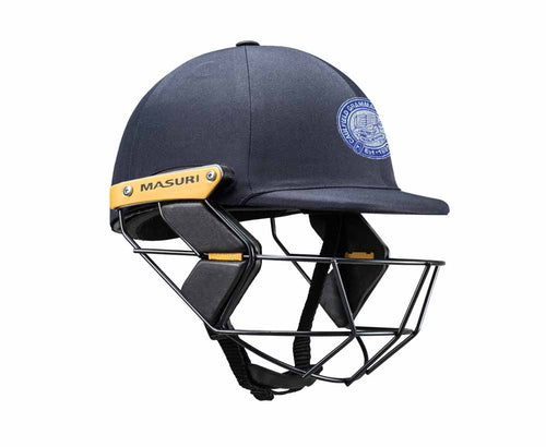 Masuri Original Series MK2 JUNIOR Test Helmet with Steel Grille - Caulfield Grammarians/NCG CC